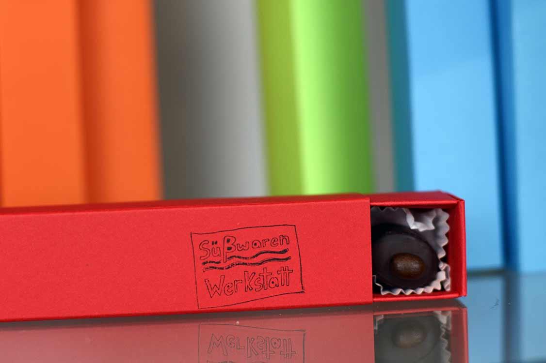 Süsswaren-Werkstatt 6er-Riegel Schokolade Geschenke; alle Bildrechte vorbehalten, keine Verwendung ohne schriftliche Genehmigung; www.süsswaren-werkstatt.de